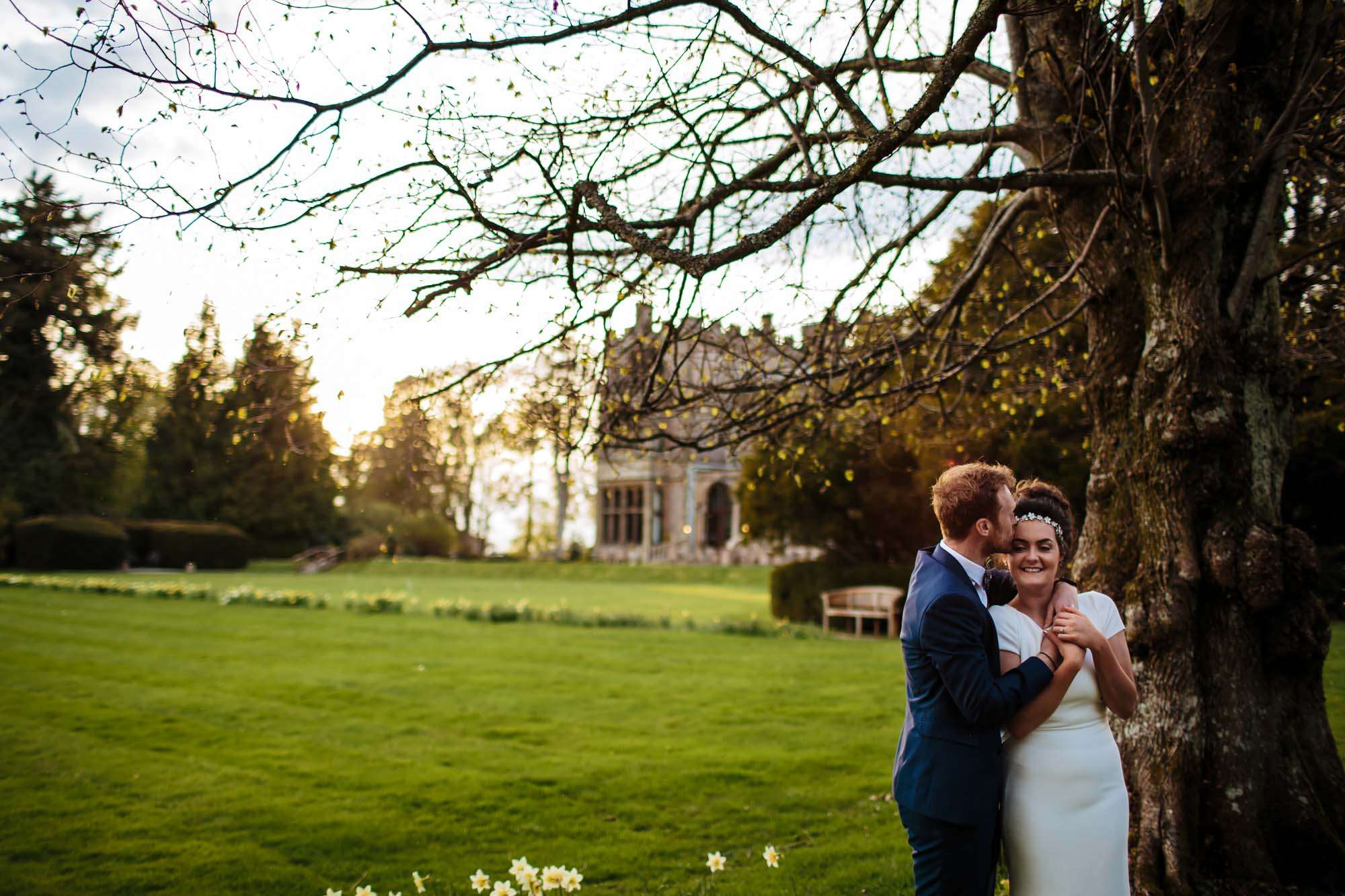 Armathwaite Hall wedding portrait