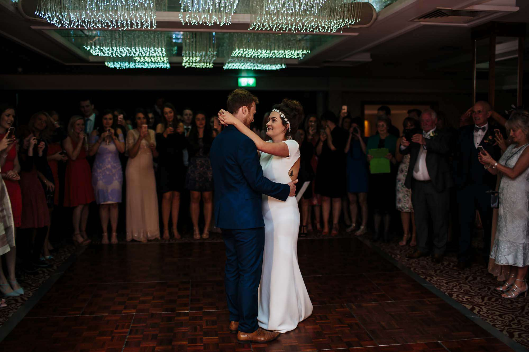 First dance at Armathwaite Hall wedding