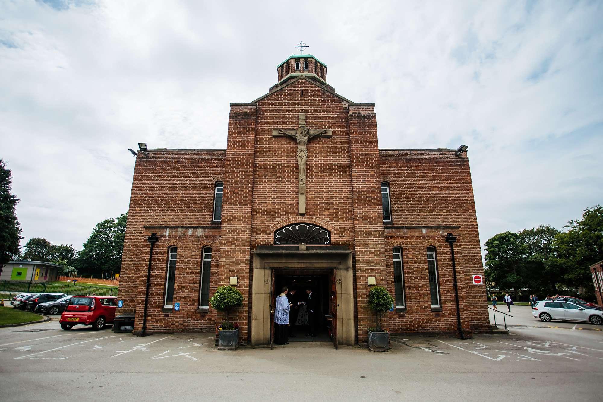 Immaculate Heart of Mary Church Leeds wedding