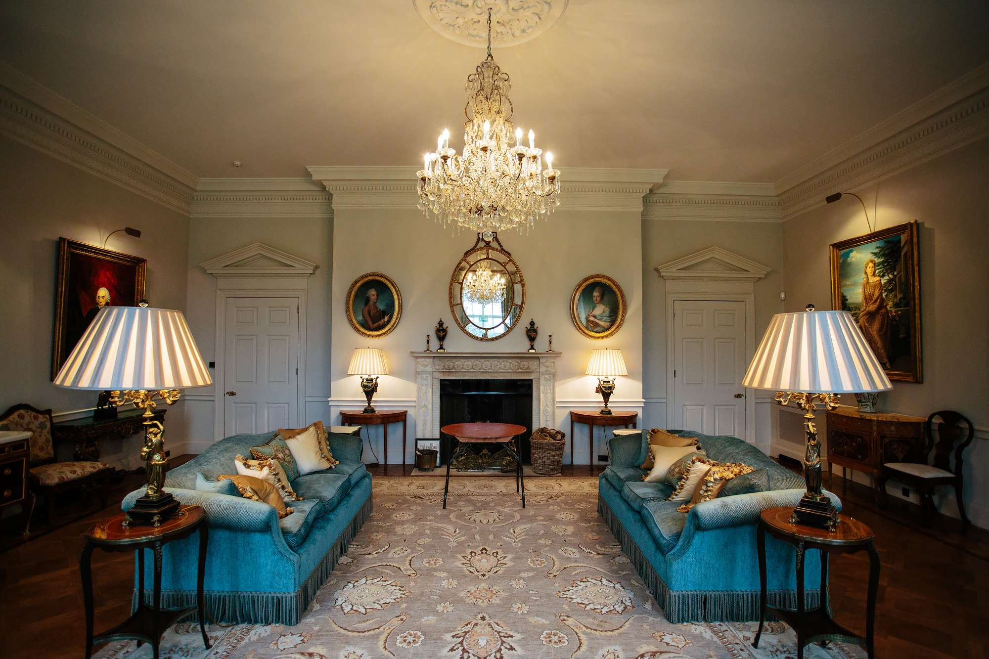 A luxurious room at Cowdray House