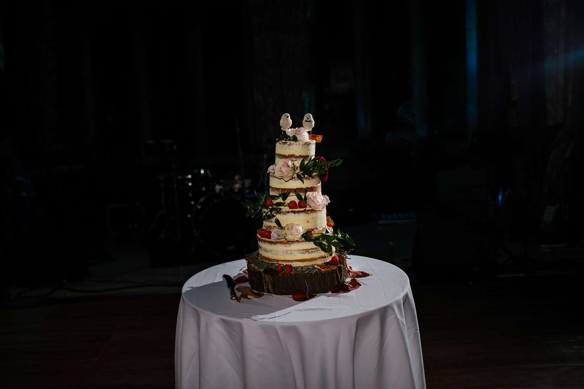 Wedding cake at Cowdray House
