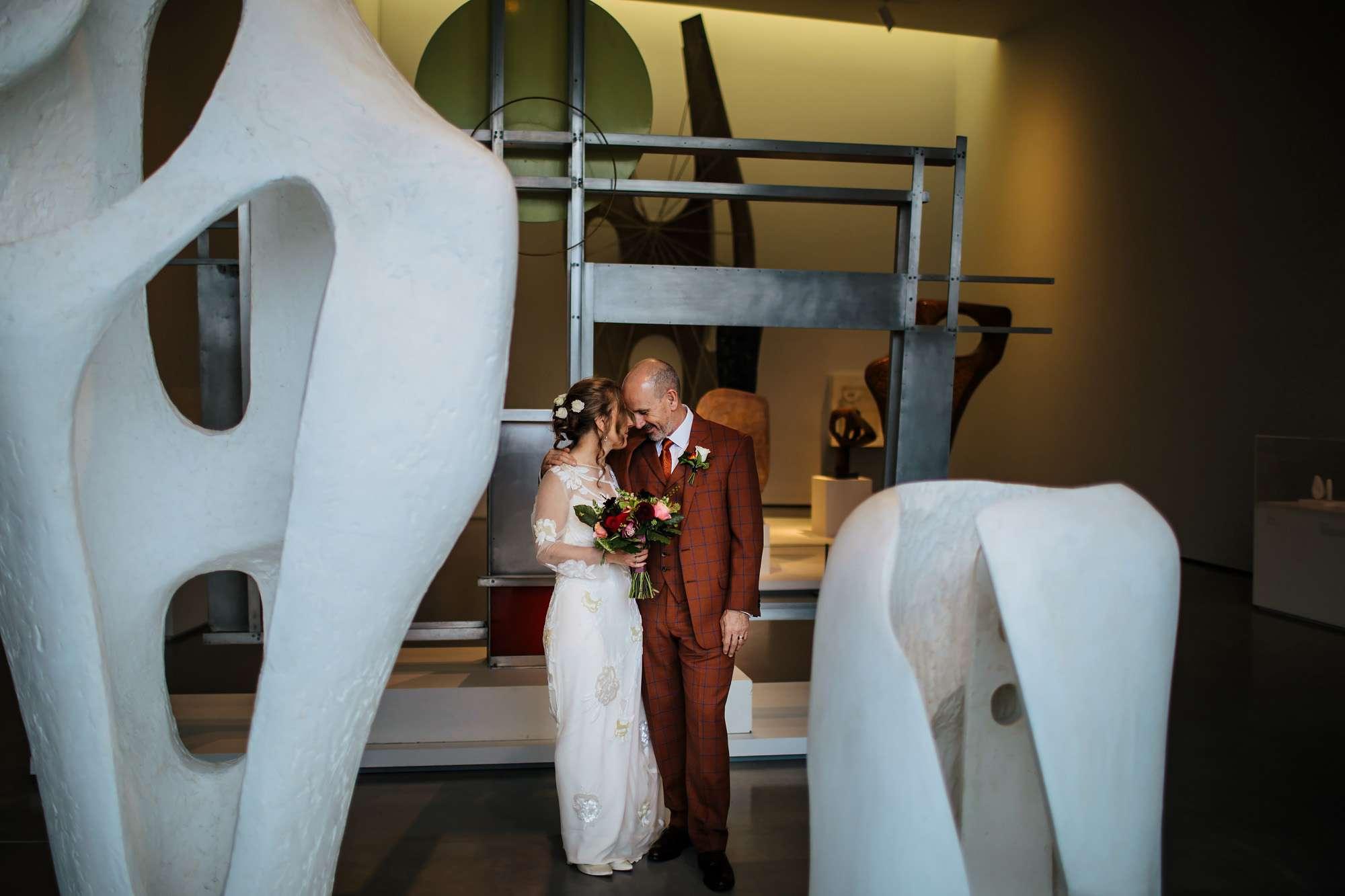 Hepworth Art Gallery wedding Yorkshire