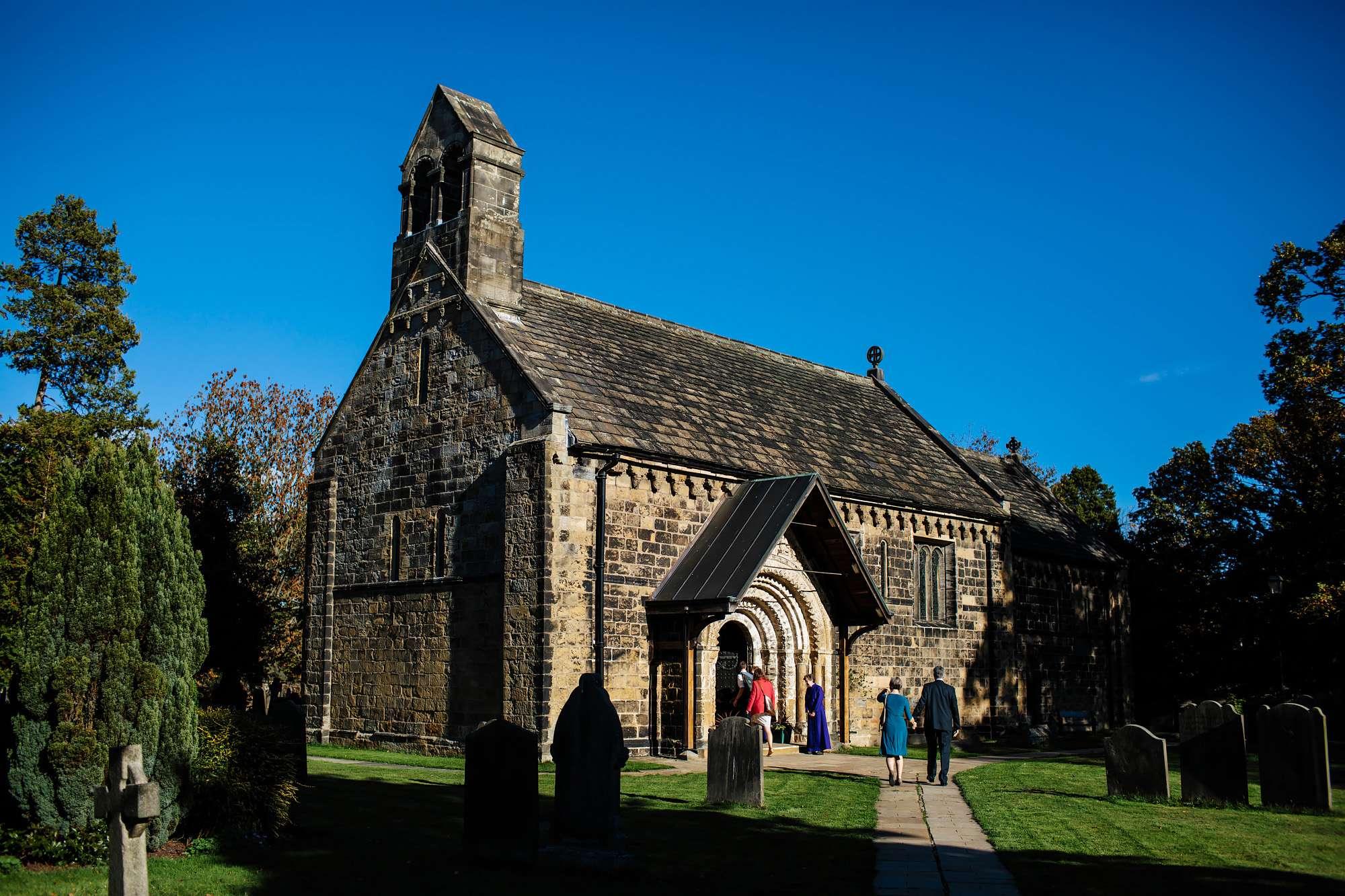 Adel Church wedding in Leeds