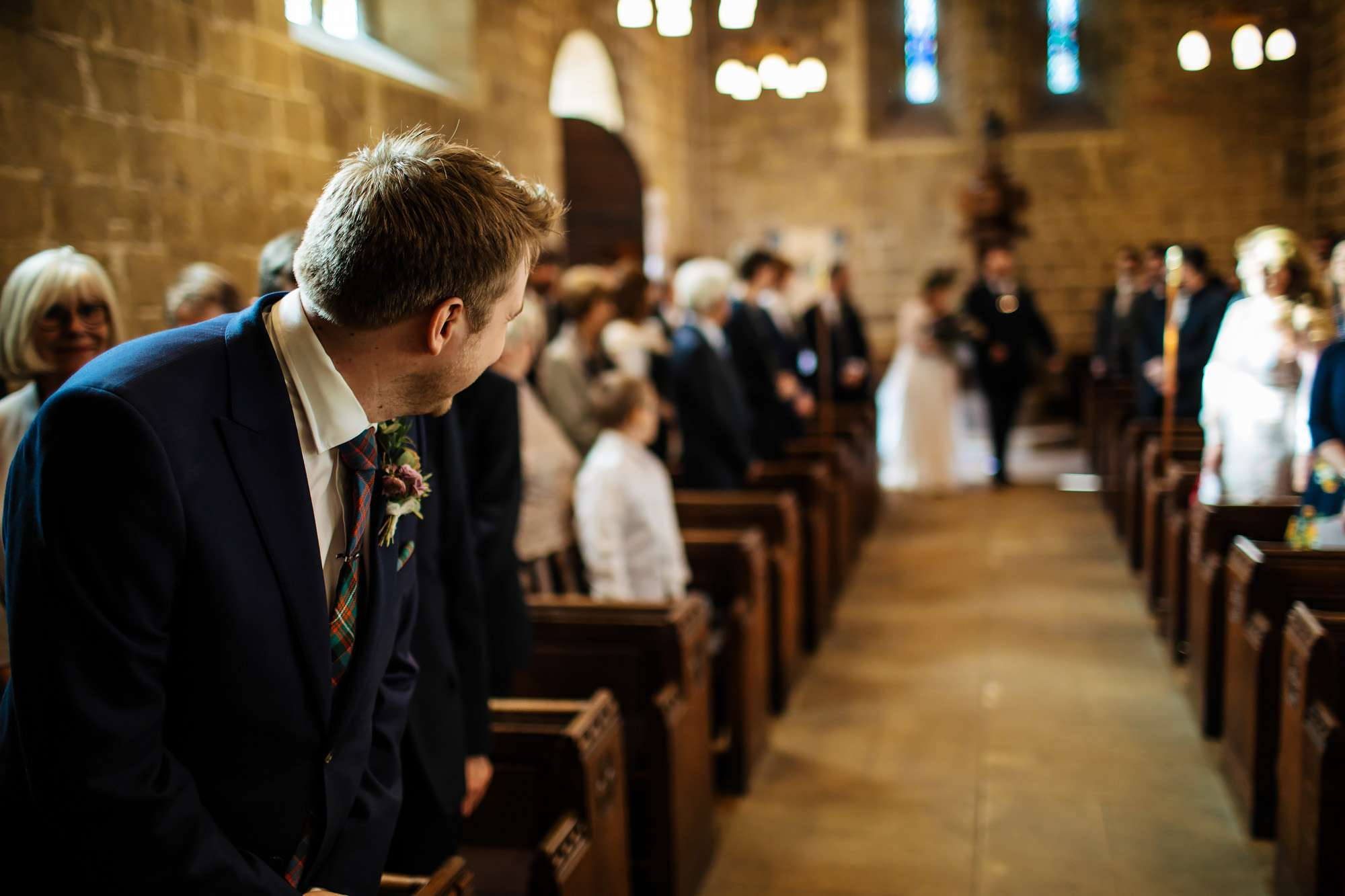 Groom sees his wife for the first time