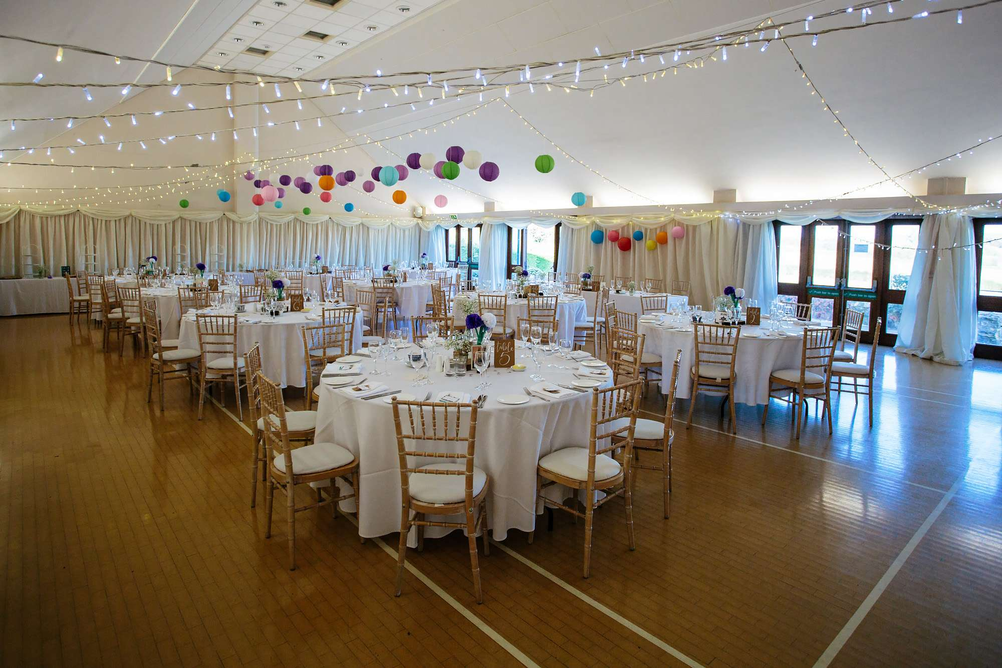 Wedding room decorations in Leeds