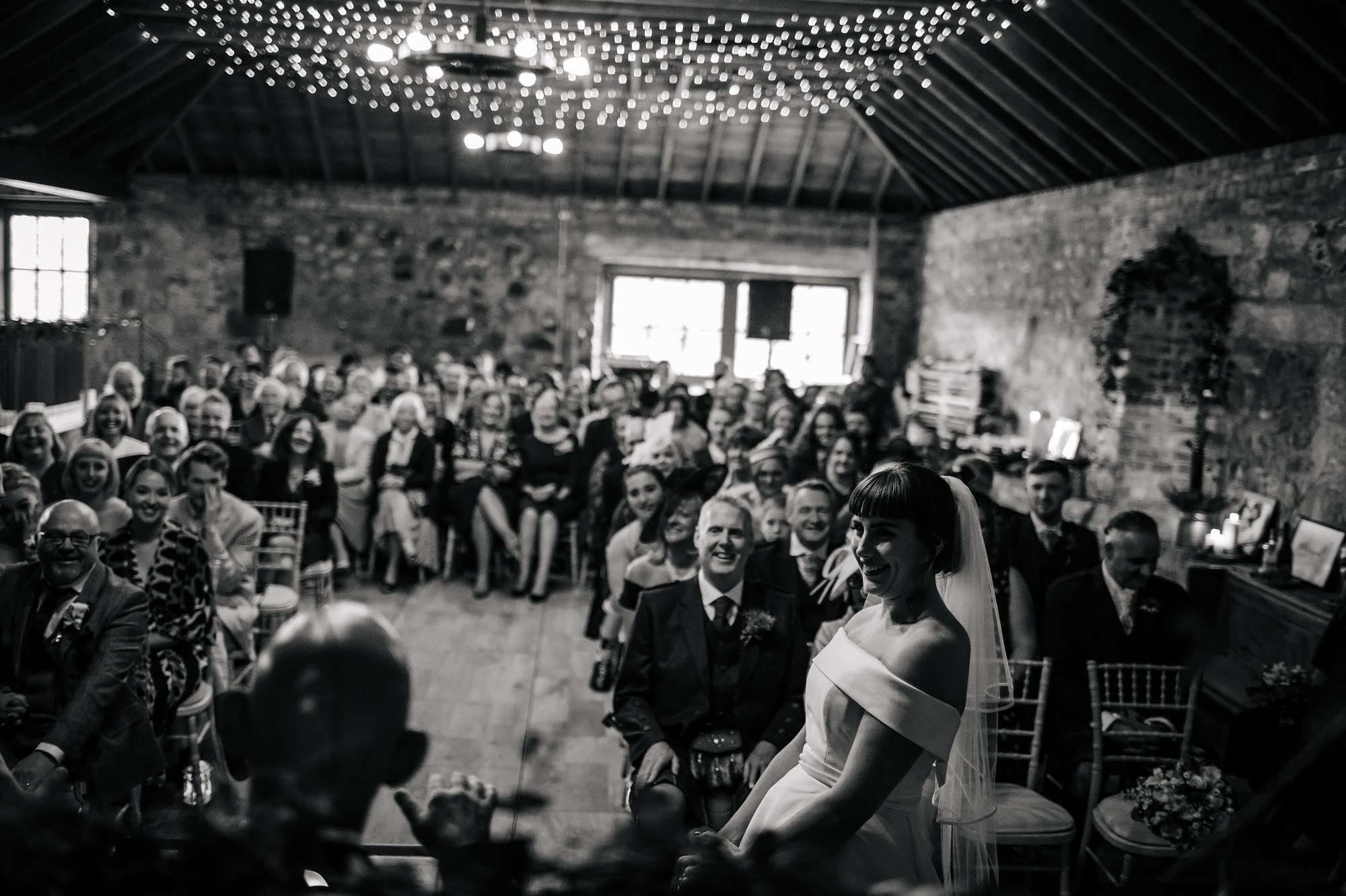 Wedding ceremony at The Rhynd Leuchars