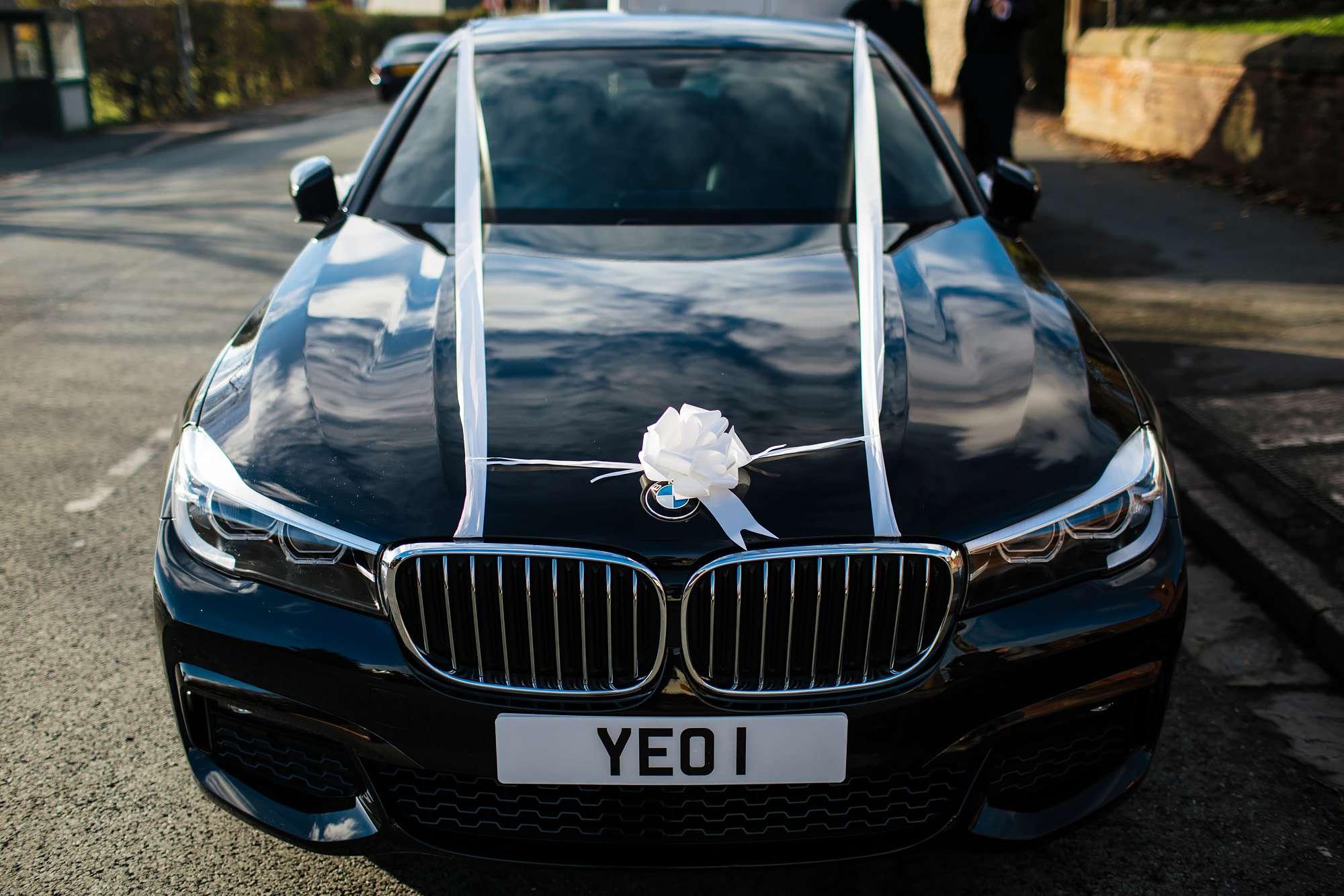 Wedding car in Blackpool