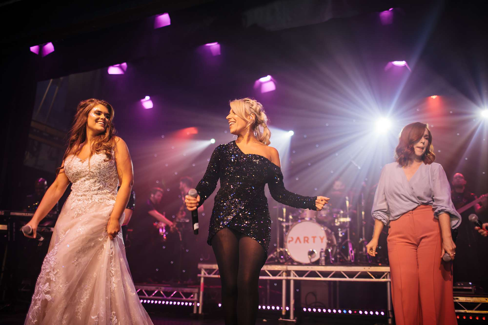 Wedding band perform in Blackpool