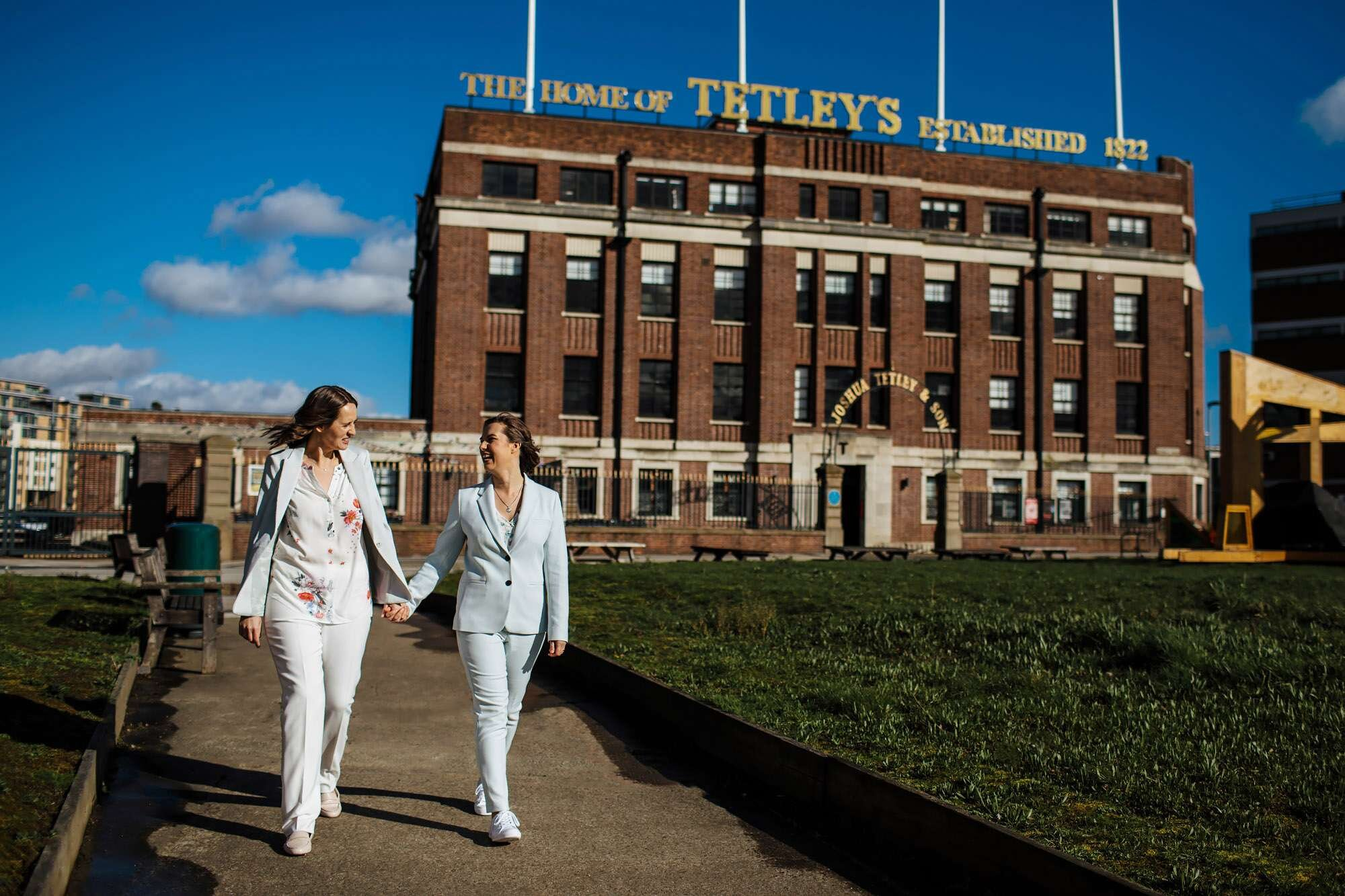 Gay wedding at The Tetley Leeds