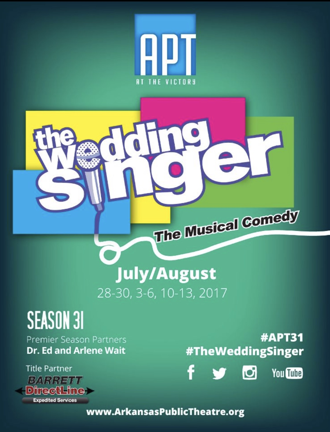 Season 31 | THE WEDDING SINGER