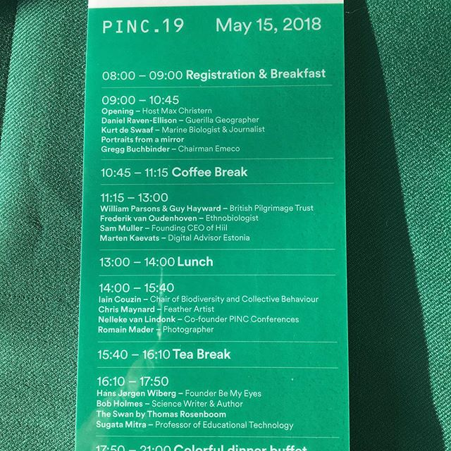 PINC.19 was again a great experience in Figi Zeist.