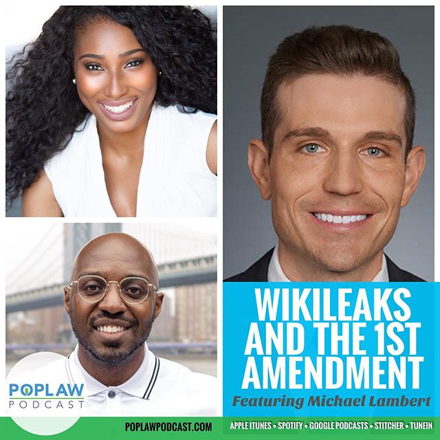 New Episode Alert 🚨. On this GUEST EPISODE we sit down with attorney @mlambert4612 to discuss The WilkiLeaks Saga. Tune in to learn how the case against founder Julian Assange may impact journalist and freedom of speech. . . . #podcast #podcasters #blackpodcast #blackpodcasters #podcasts #podecho #podsincolor #podernfamily #mypodnyc #popculture #entertainment #entertainmentlaw #blacklawyersmatter #lawyer #lawyerlife #nyc #wikileaks #firstamendment #freespeech #freedomofspeech