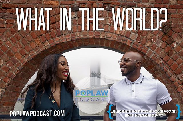 New Episode Alert 🚨. This week we discuss Cardi B's deposition testimony yet another lawsuit, a lawsuit over the infamous #PopeyesChickenSandwich and Trump's lawsuit against Omarosa. Plus we breakdown depositions and have an update on #FyreFestival 🗣🌎