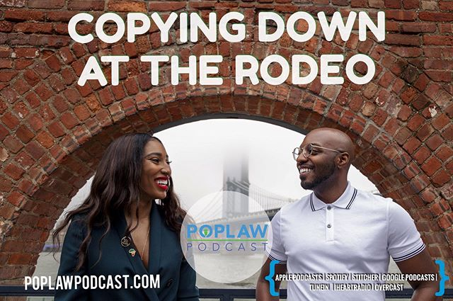 """New Episode Alert 🚨. This week we discuss Lil Nas X & Cardi B being sued for allegedly copying the song 'Rodeo.' Peloton suing a competitor for allegedly copying its bike technology and SoundExchange's effort to help artists get paid. Plus we Breakdown the role of SoundExchange and Digital Performance Royalties. Finally, we have updates on Tekashi 69 testimony and Kanye's settlement of his """"slave contract"""" with EMI."""
