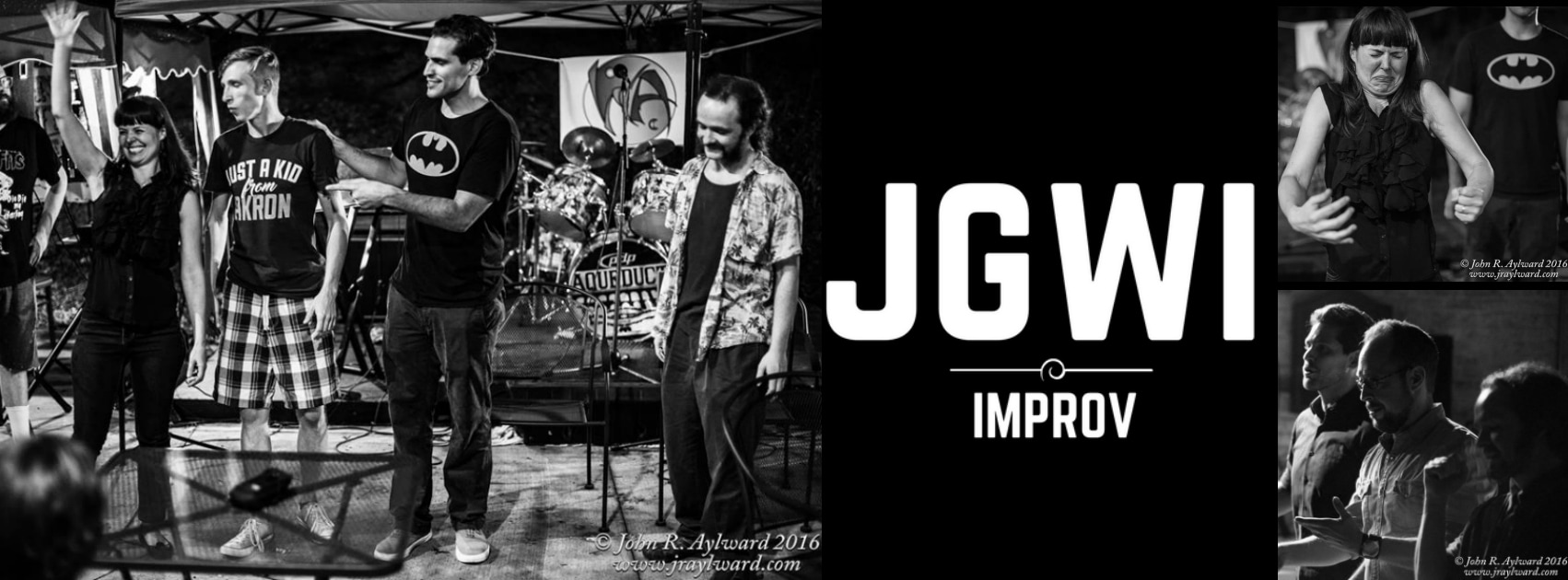 7pm - Doors  8pm - Performance from Just Go With It Improv  9pm - Workshop  Just Go With It Improv is offering an improv workshop, open to anyone who would like to learn how to play some fun improv theatre games, or would like to brush-up on some improv skills!  Just Go With It Improv is a fun and energized improvisational collaborative aimed at providing opportunities for local performing artists to improve their craft through improvisation. We view ourselves as an experimental group and one that engages with the local community and local artists of all disciplines.   RSVP to the Facebook event page!    Tickets are available here!   Tickets:  $8 - show only  $13 - show + workshop  ***Even if you do not wish to participate in the workshop, please stay and enjoy the bar and watch the workshop.