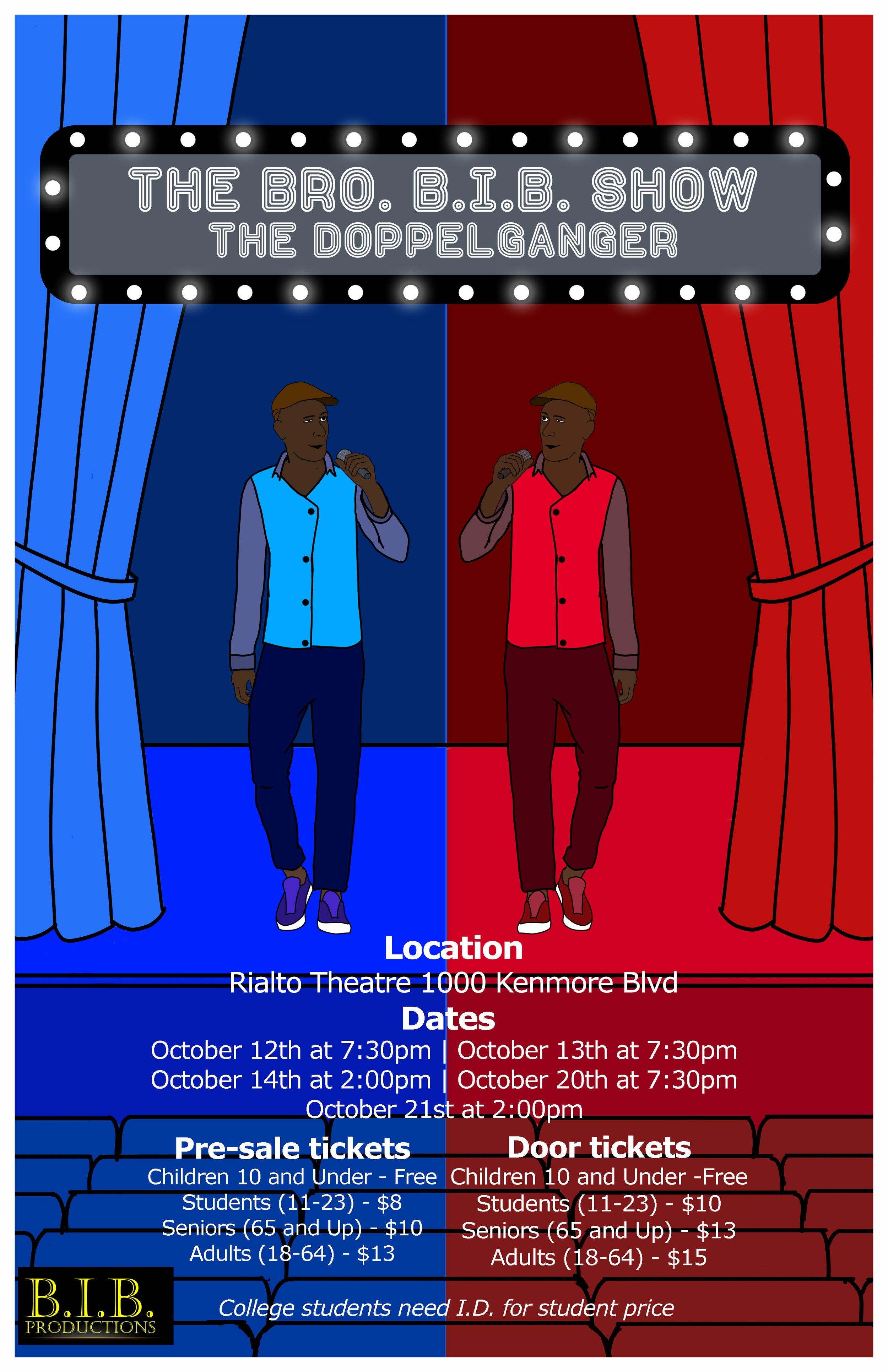 The Bro. B.I.B. Show - The Doppelganger Poster.jpg