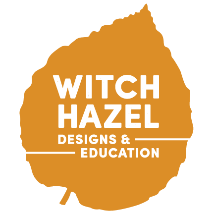 WitchHazel_white-logo_solid-orange-leaf.png