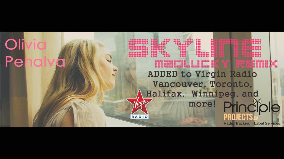 Olivia Penalva - Skyline Madlucky Remix Promo