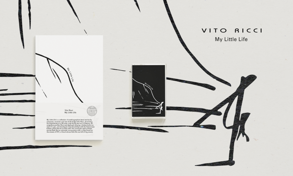 Vito Ricci - My Little Life (Book + Cassette) ROTIBABI