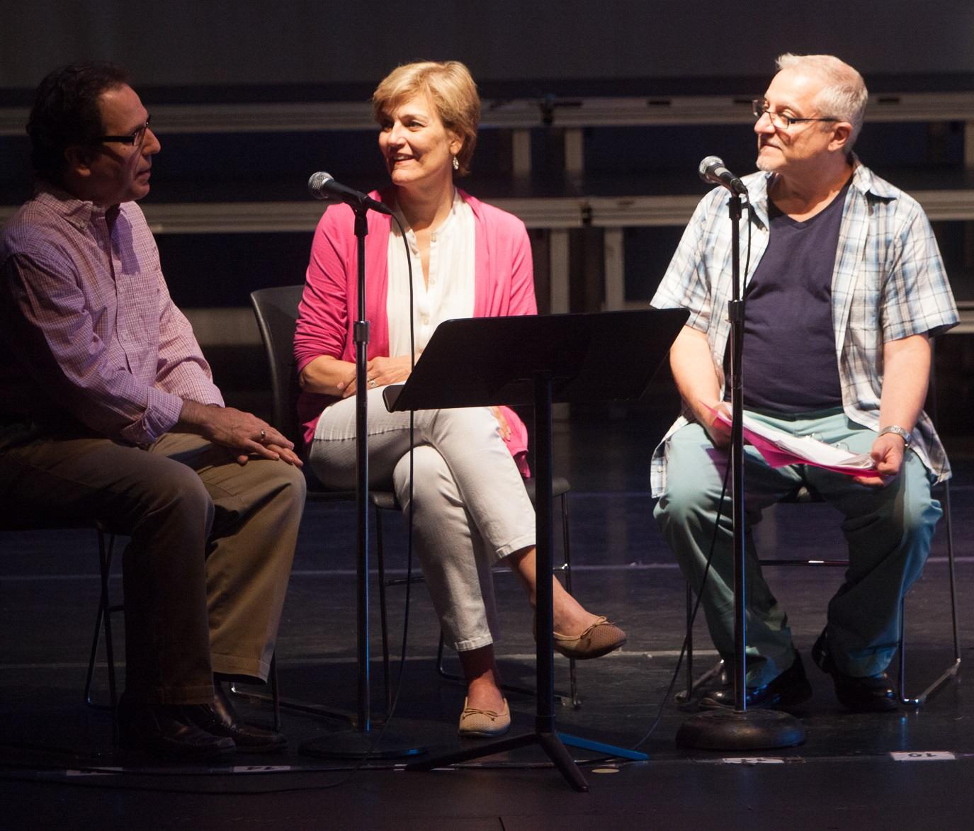 Robert Laconi with Karen Mason & Gary John LaRosa