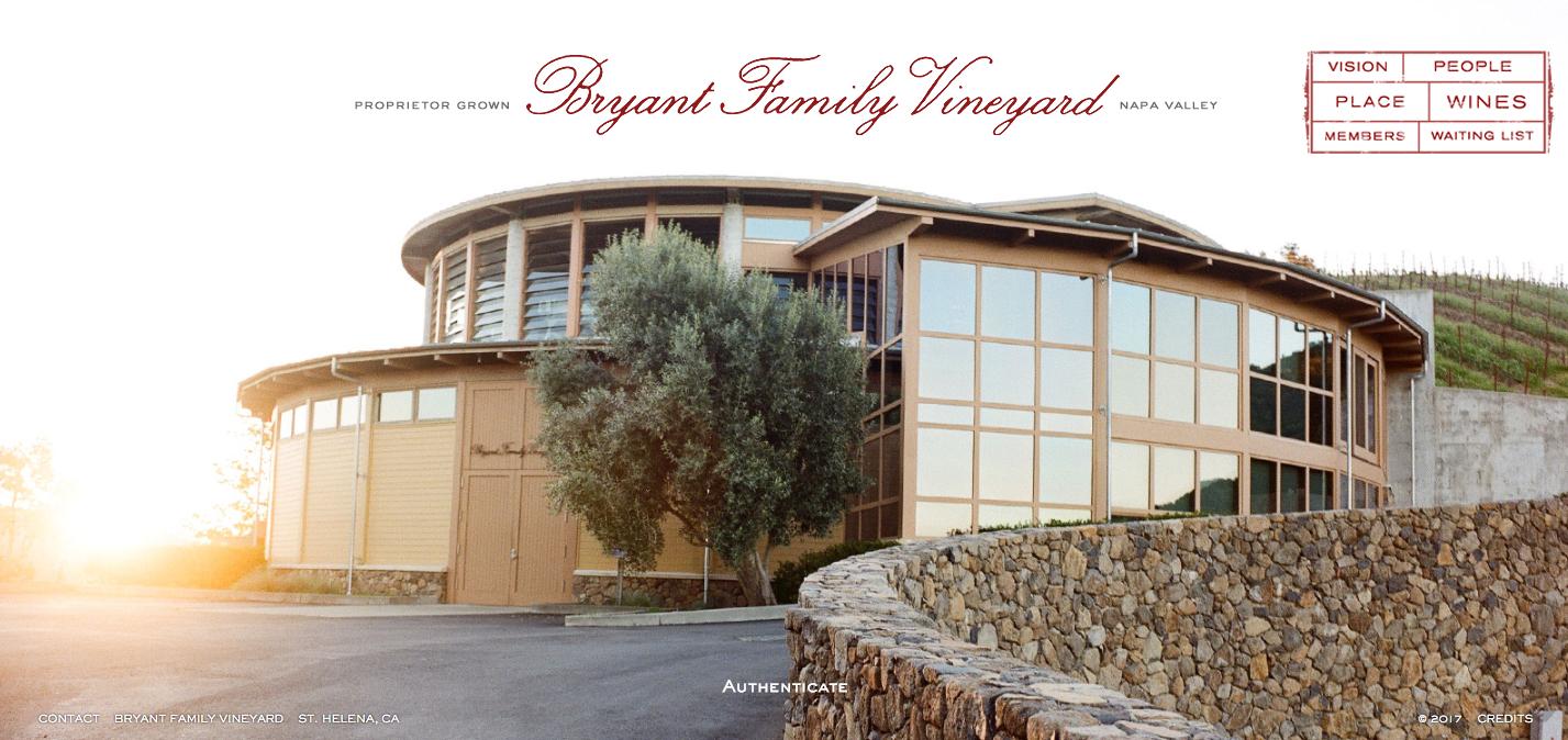 Bryant Family Vineyards