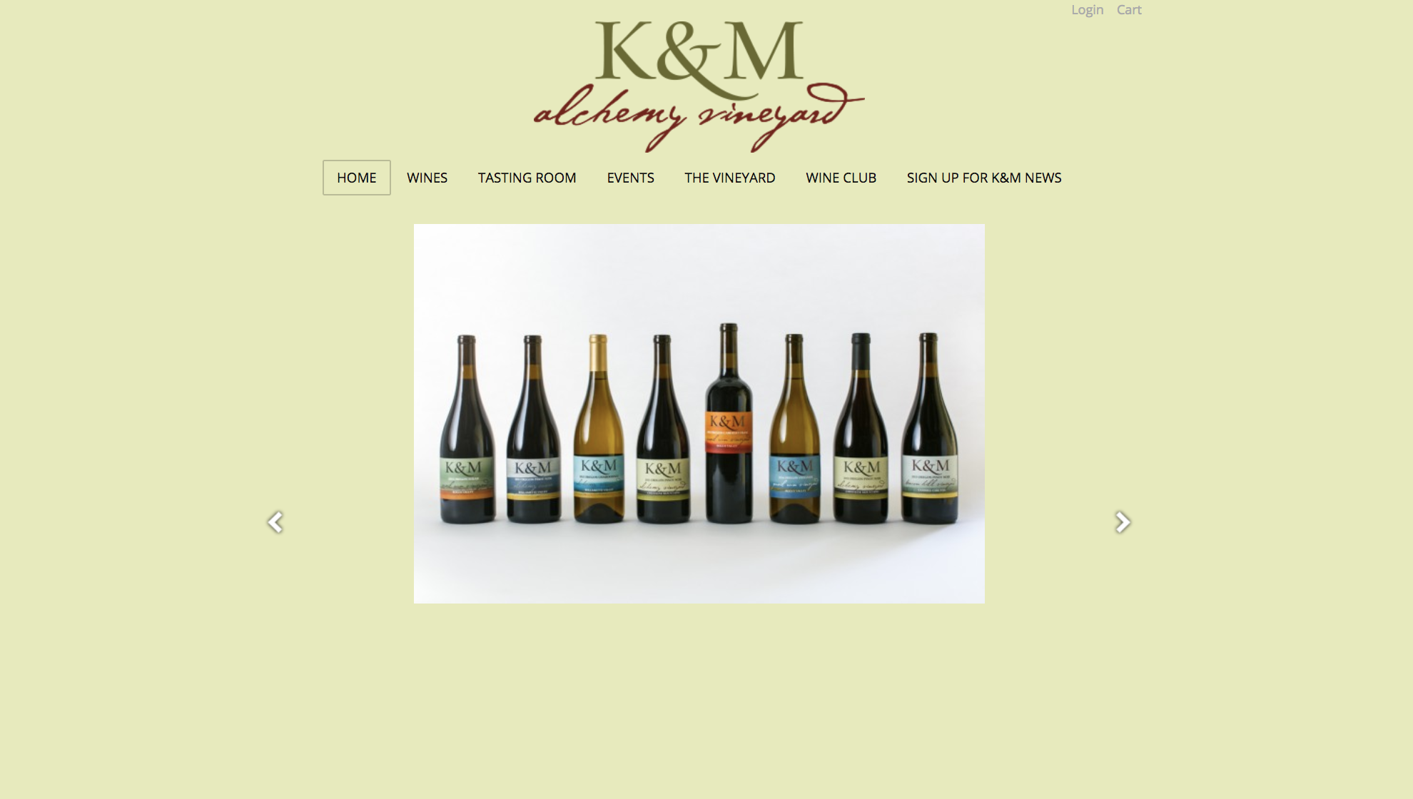 K & M Homepage