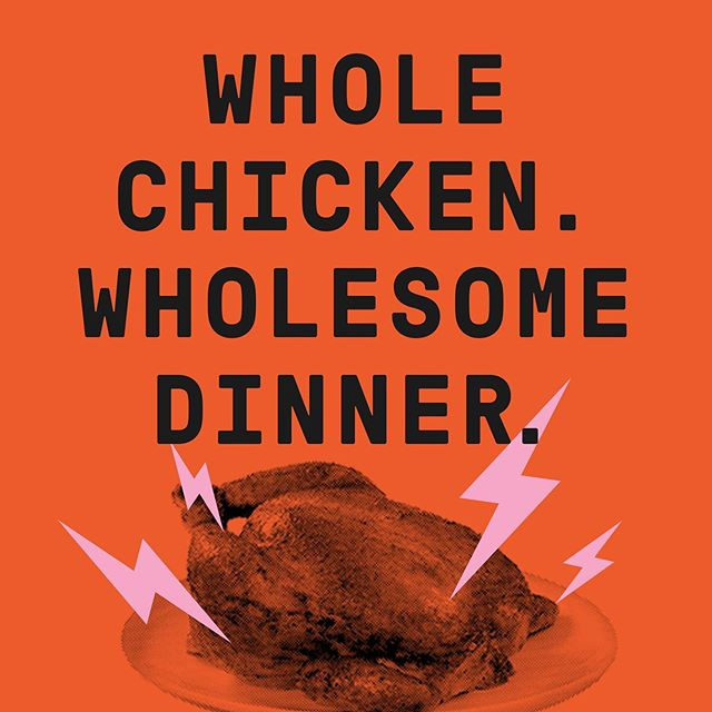 Our Whole Chicken Dinners are the most delicious dinners in town! 😎 Plus, we've got a great dinner deal that includes a whole bird, 3 large sides, & 2 sauces. Check it out through our #LinkInBio.