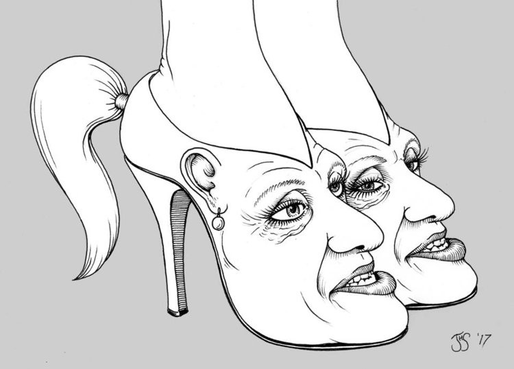 KellyAnne Conway's Fuck You Pumps