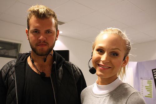 Marcus Fyrberg och Eleonor