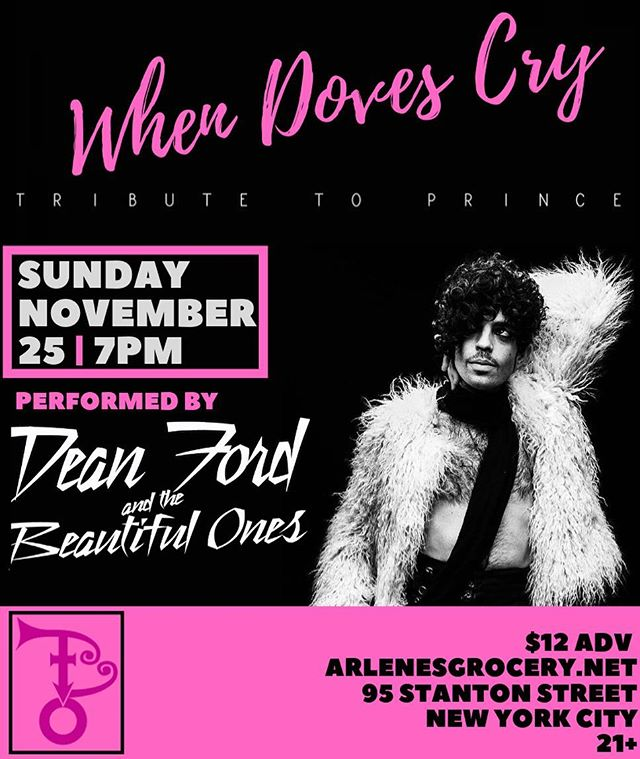 NYC - We want 2 C U at @arlenesgrocery on Sunday, Nov. 25th! Get ur tickets at: arlenesgrocery.net