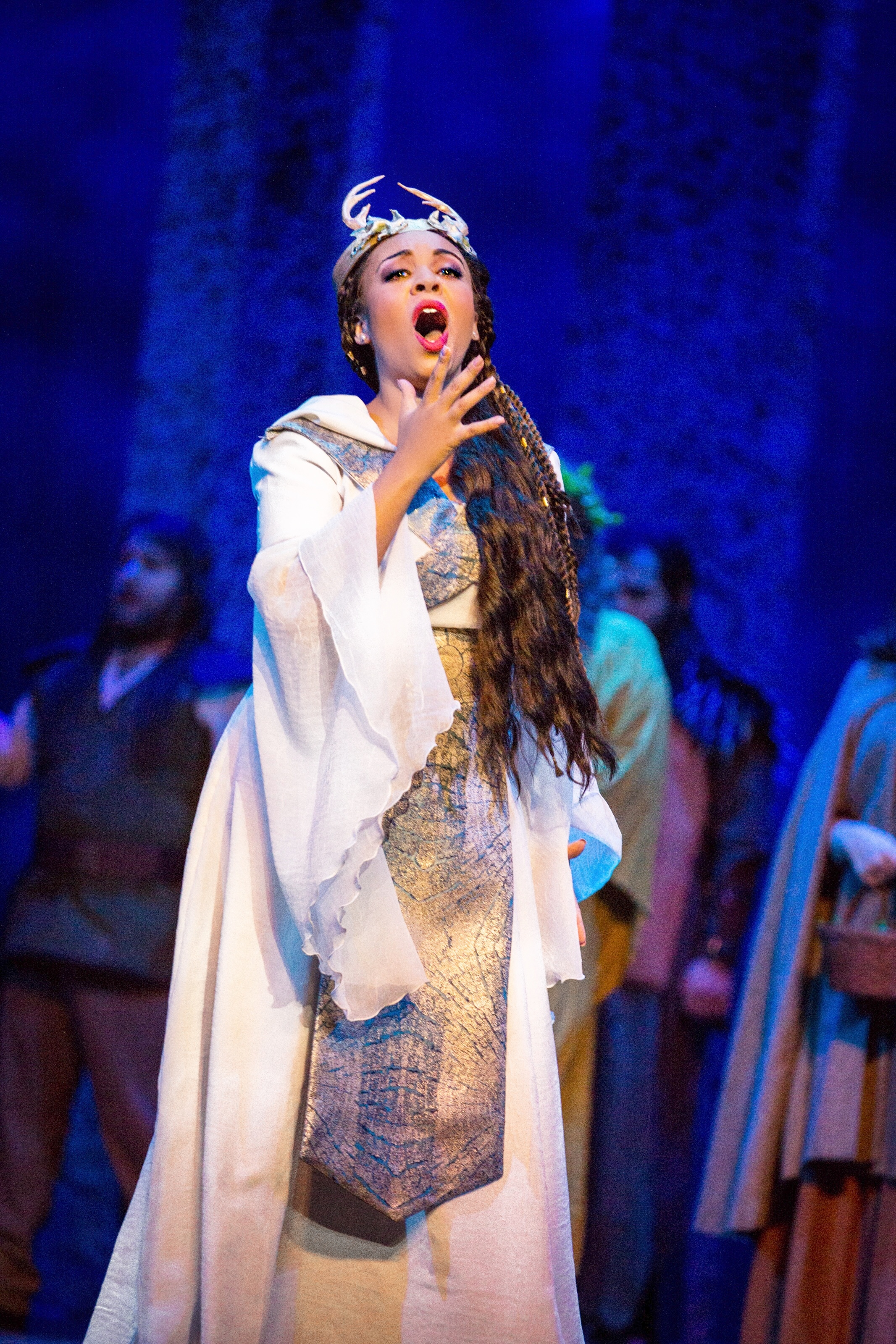 As Norma in Bellini's Norma