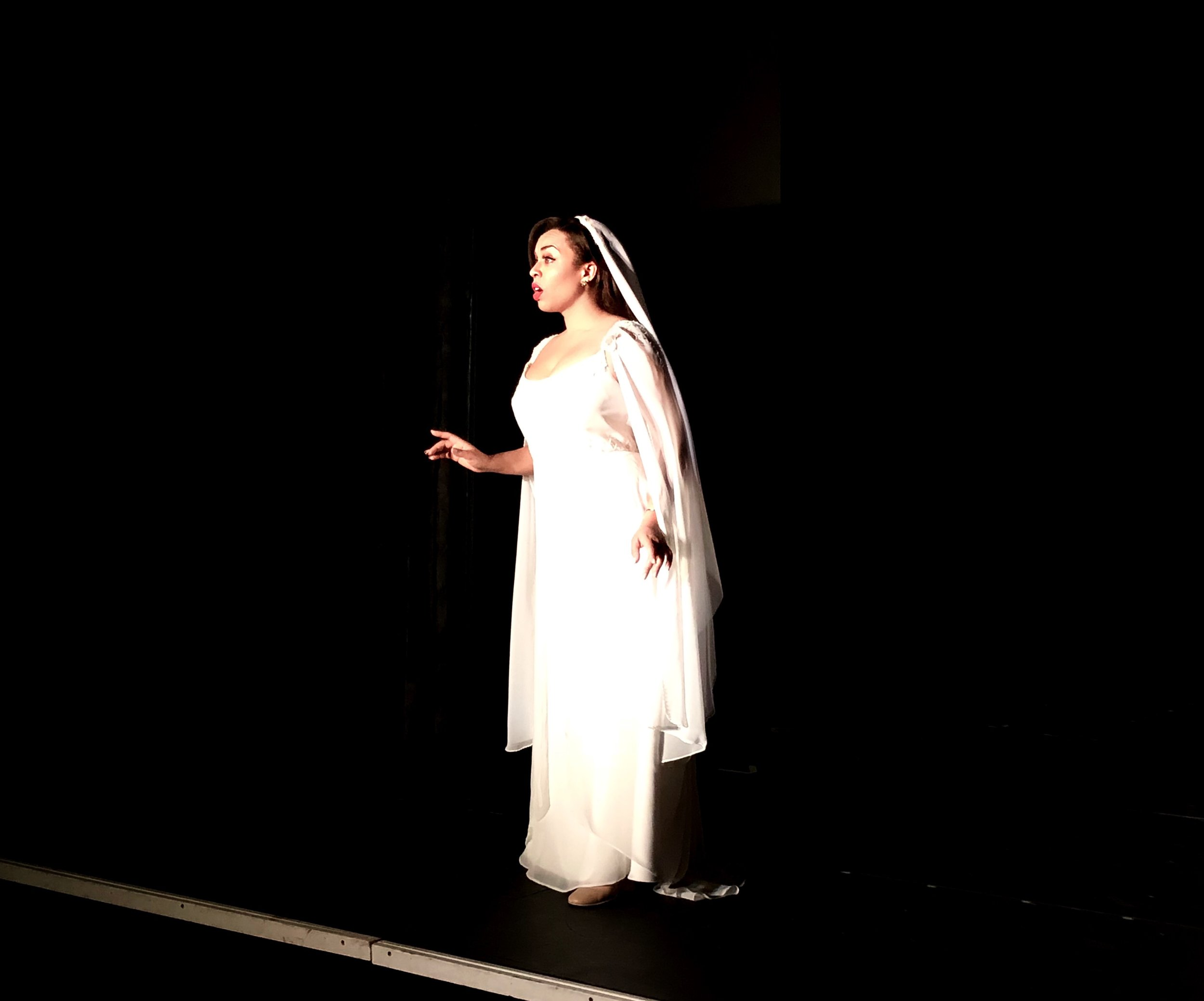 As Giulietta in Bellini's I Capuleti e i Montecchi