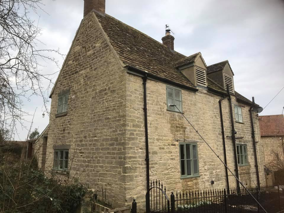 Window cleaning cotswold home