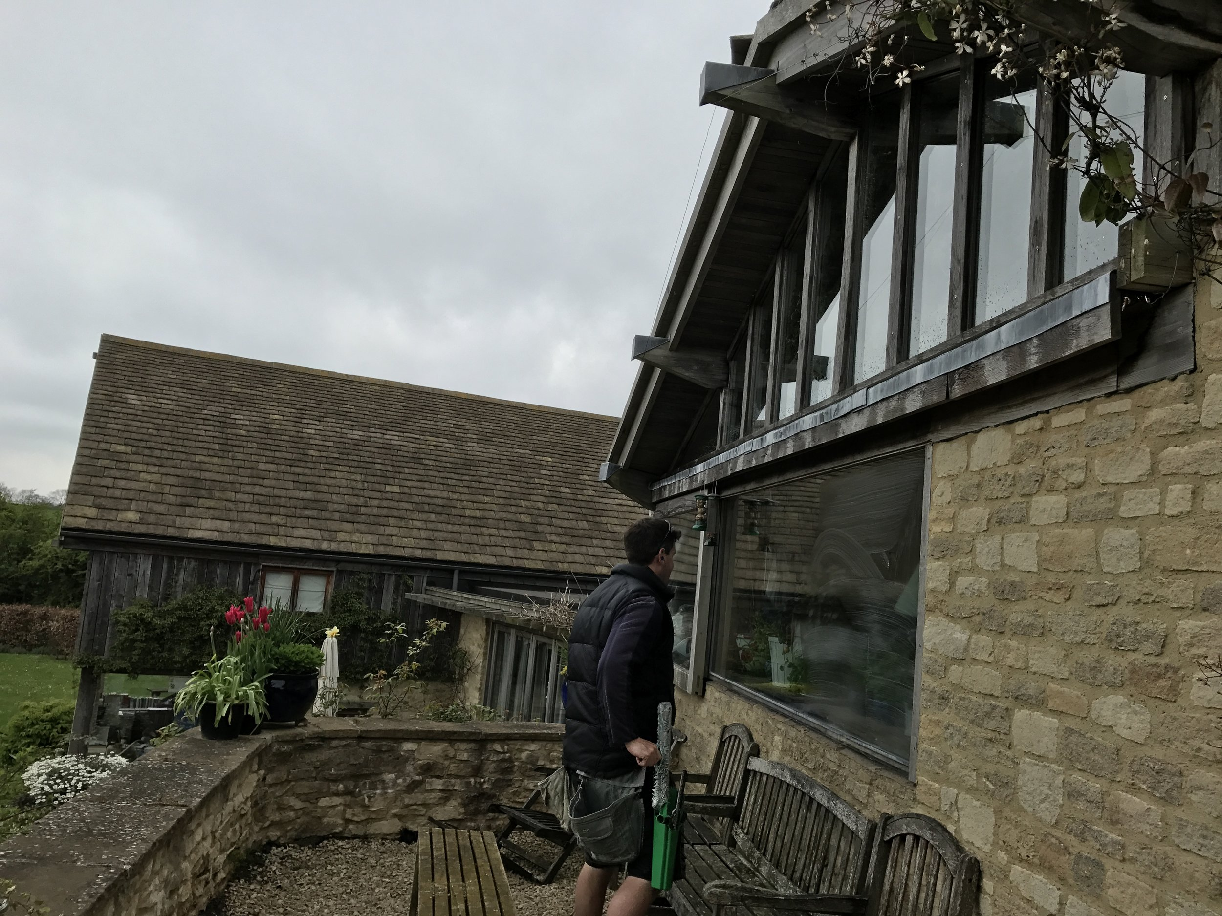 A variety of windows to clean