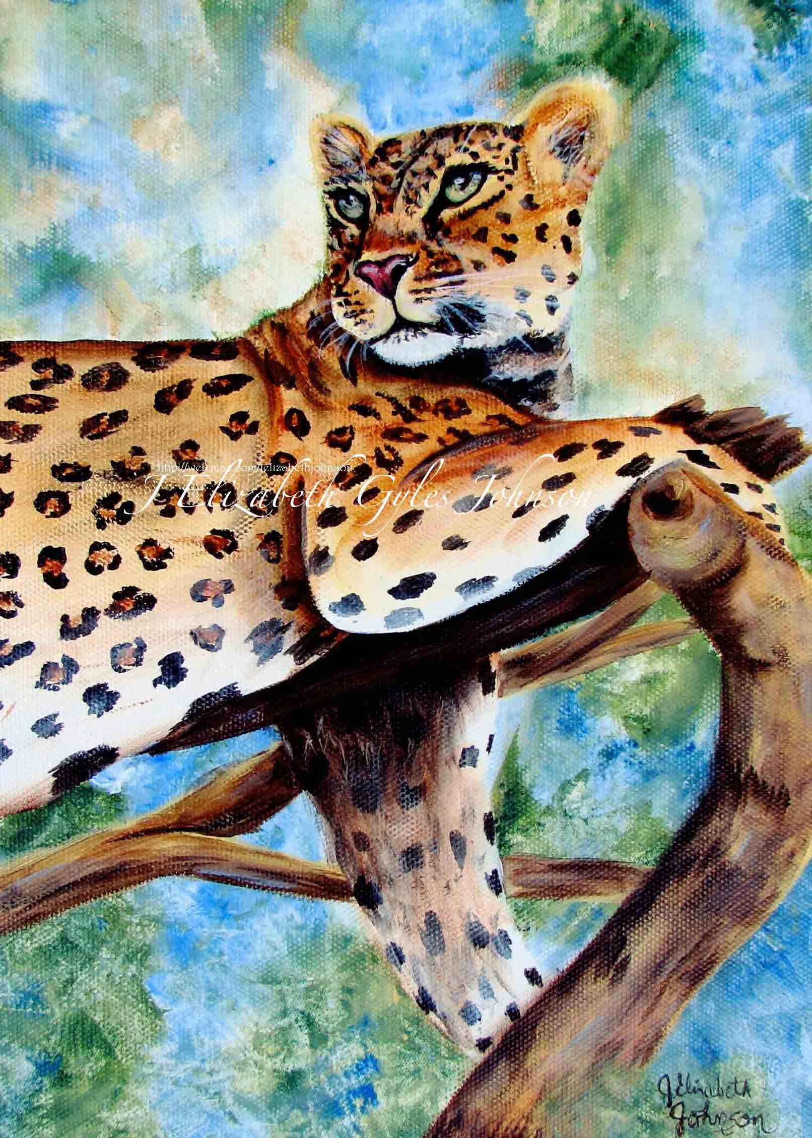 Painted Leopard