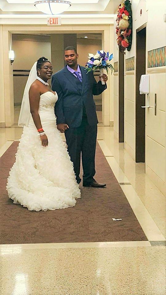 Brian & LaShonda 12.17.16 - A Hospital Wedding
