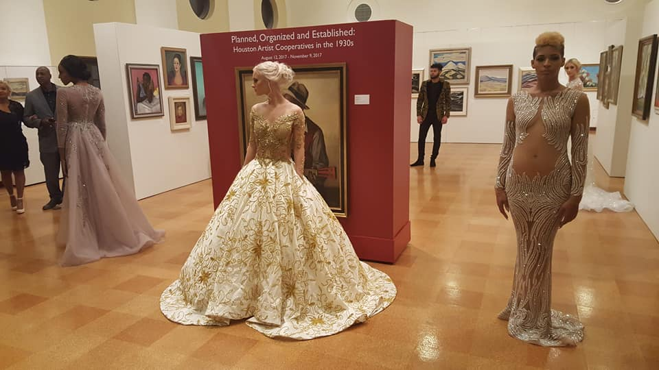 Bridal Dress Designs at the Muna Love Affair Houston Tour