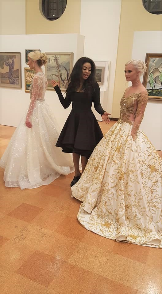 The Designer of the Bridal Dresses.