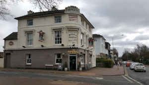The Imperial, on the corner of Pennington Road