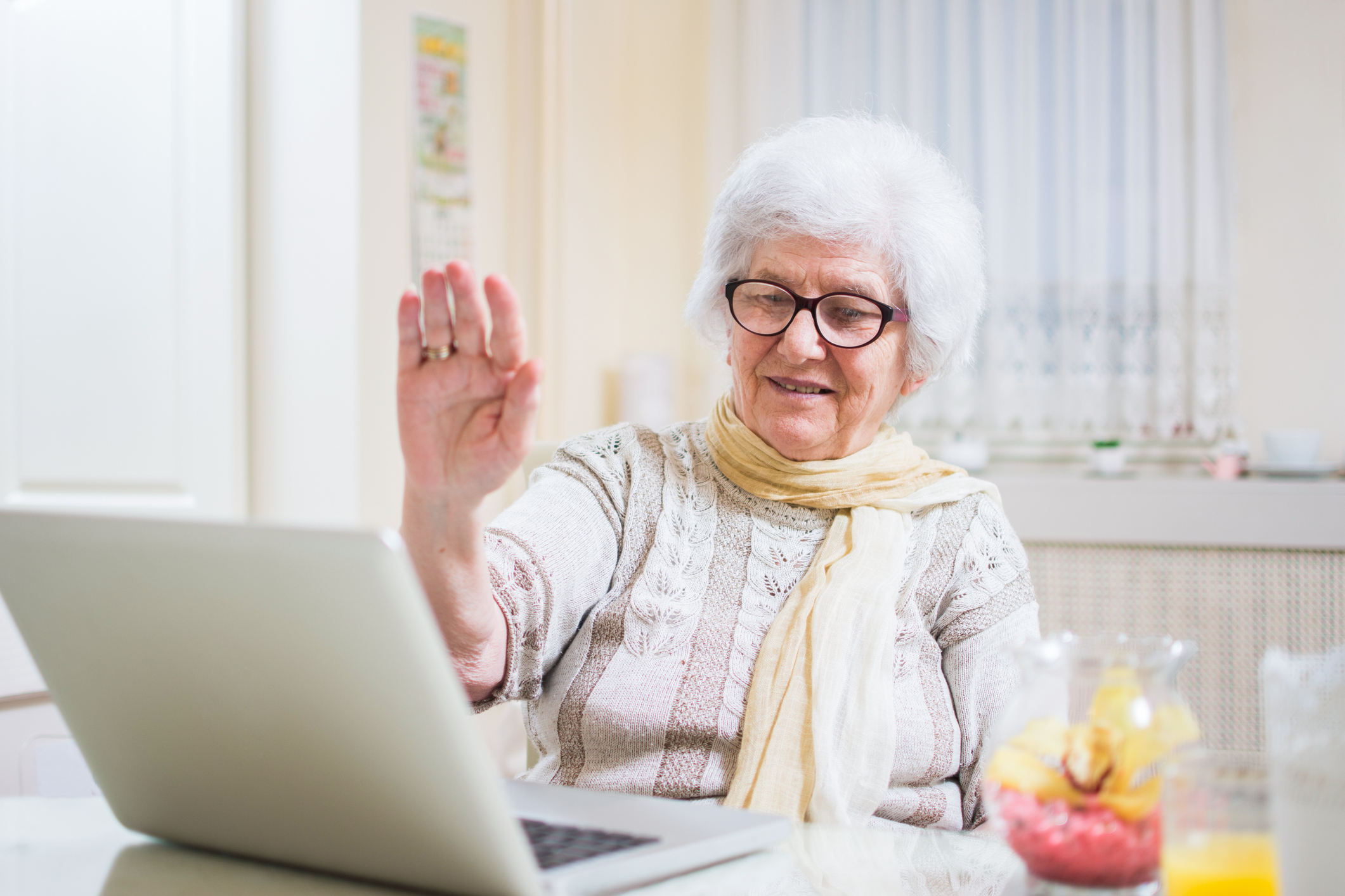 FaceTime / Skype / Snapchat Loved Ones with our help OR Receive Phone Check-Ins from Cardinal Gerontology  - Schedule a Connection Time