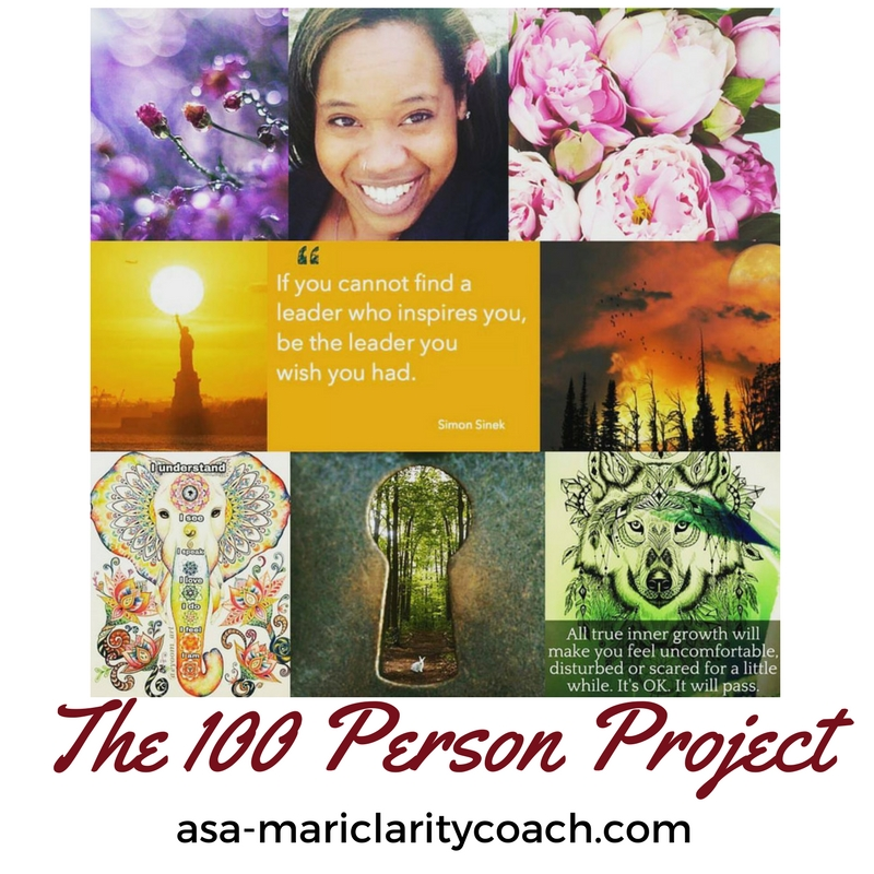 The 100 Person Project- Sign up now to be a part of this amazing opportunity!
