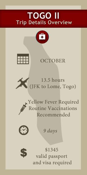 TOGO II Medical Trip Detail
