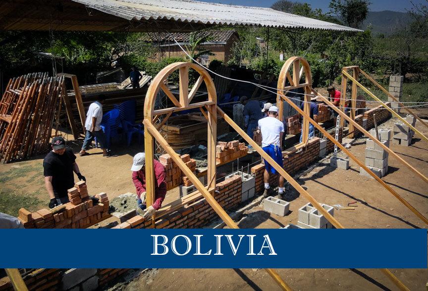 CWE Bolivia construction site