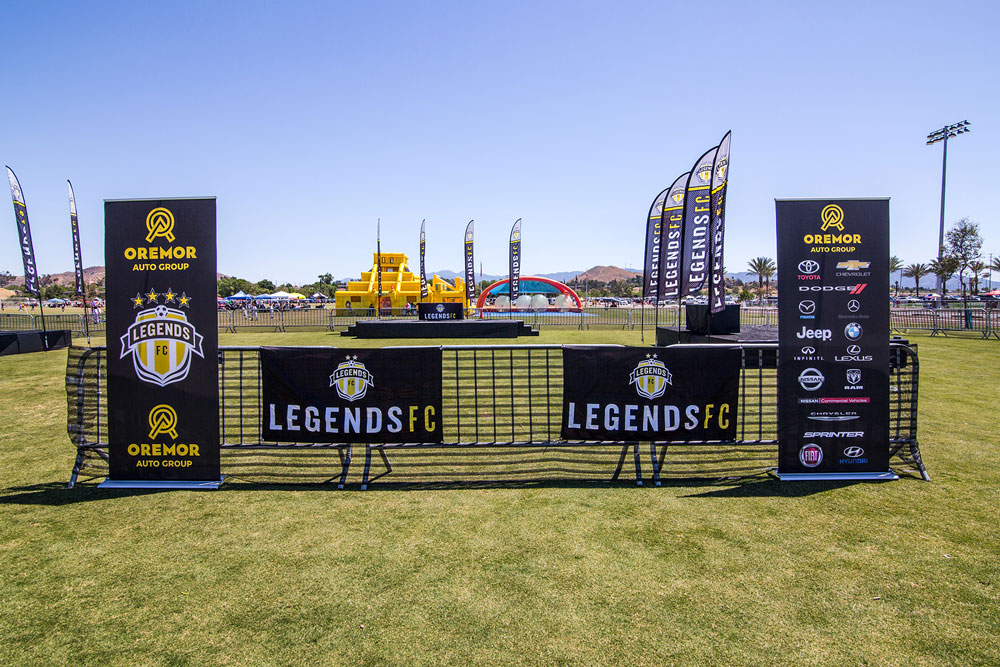 Banners and Scrim during Legends Tournaments