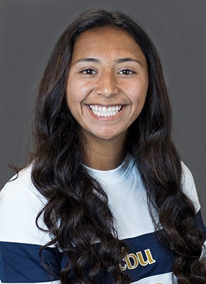 Scored a goal in a commanding 4-0 Cal Baptist victory over Jackson State. She followed that game up by scoring the game tying goal in a 1-1 draw against Mississippi Valley State.