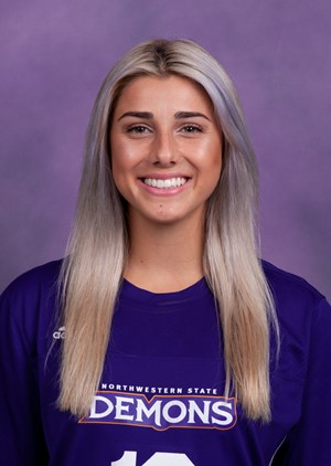 Scored her fourth goal of the season to help lead Northwestern State to a commanding 5-0 victory over Southern. She completed the weekend by picking up an assist in another lopsided 8-0 win against Jackson State.
