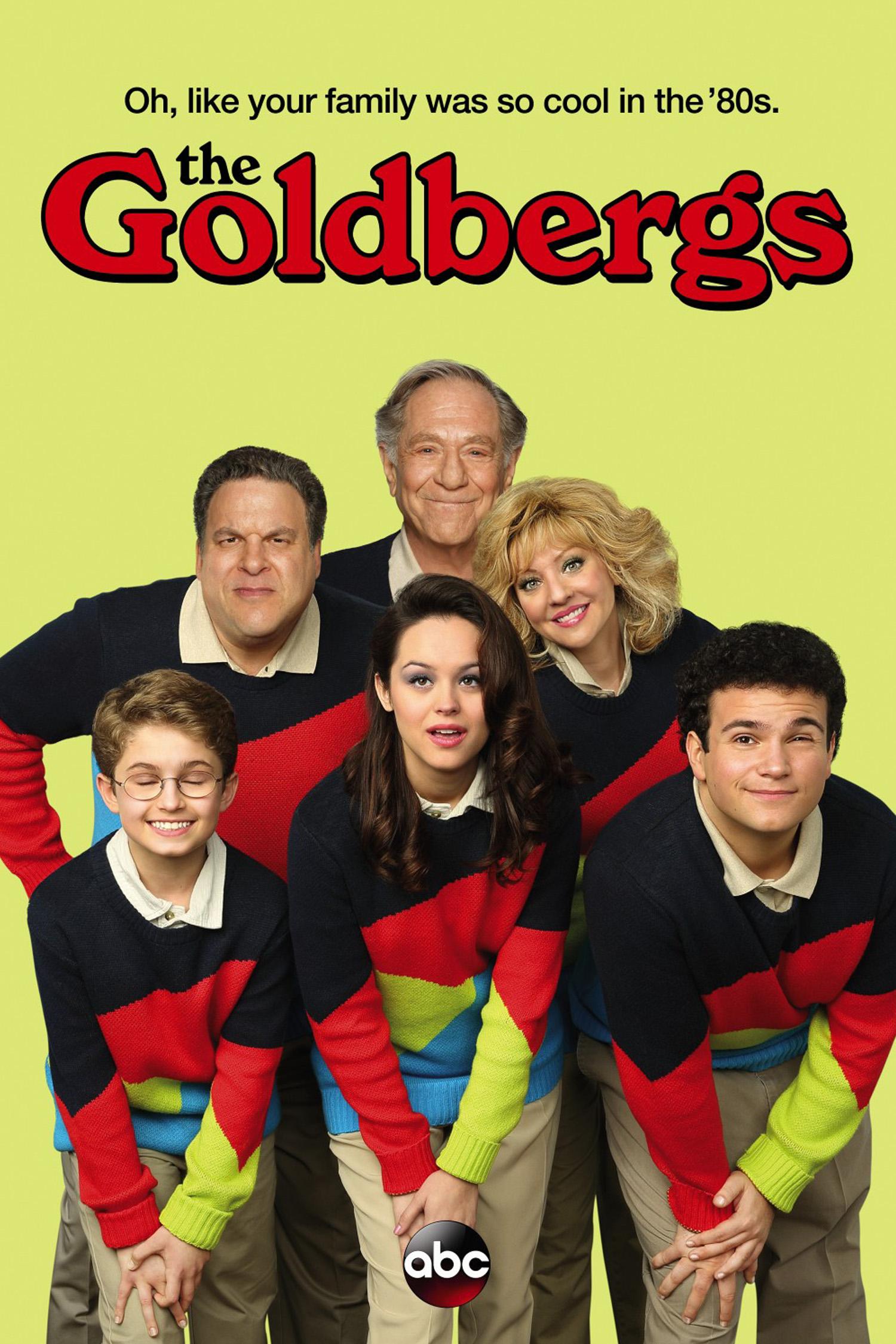 THE GOLDBERGS   TV Series, Comedy (Season 1-2)  ABC Studios/Sony Pictures Ent.  Producers - Adam Goldberg, Doug Robinson, Seth Gordon  Additional Editor - Waldemar Centeno
