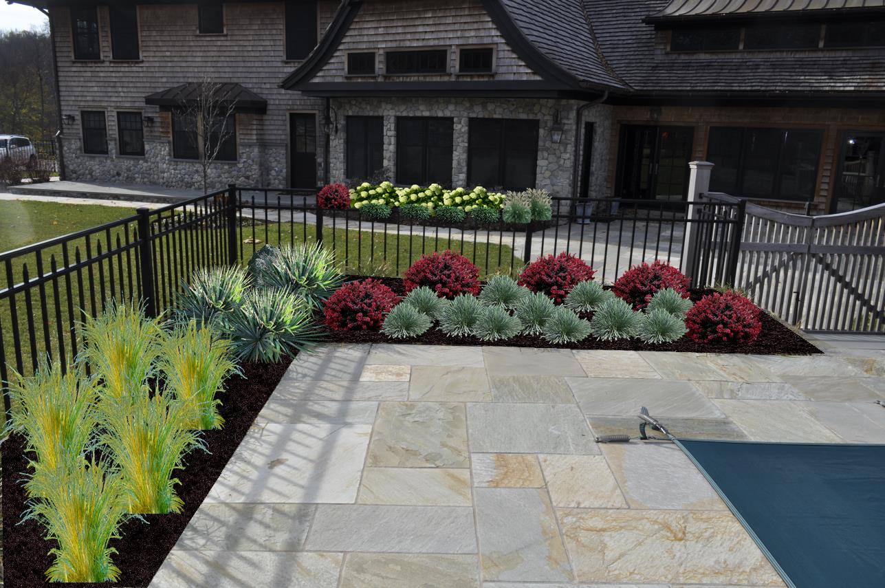 Pool Landscape Design, Rockleigh