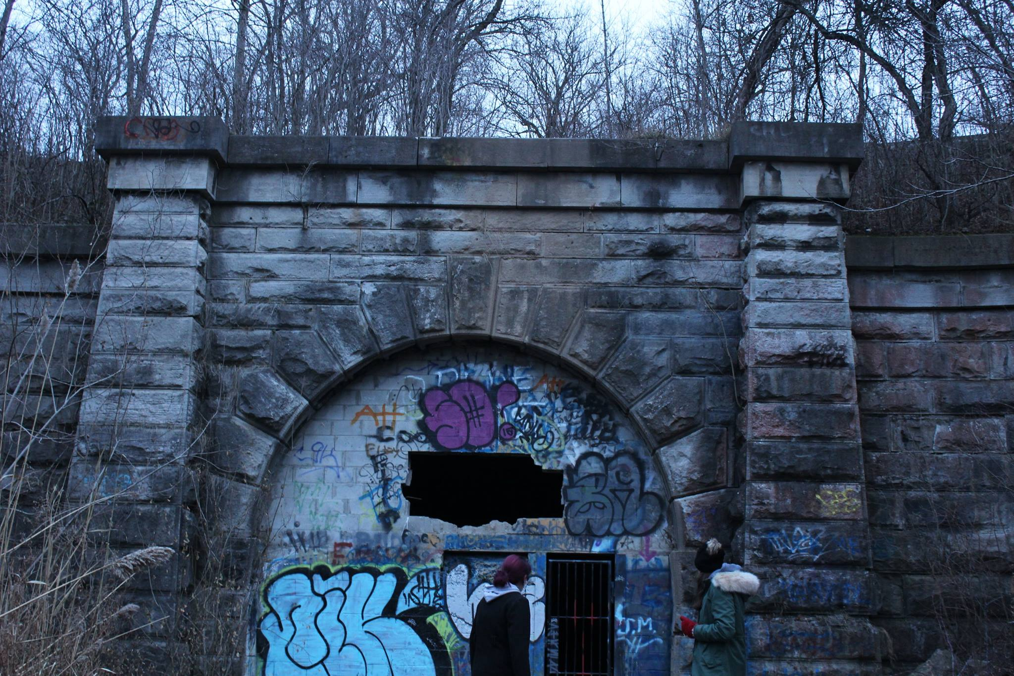 Exploring the Blue Ghost Tunnel in St. Catharines