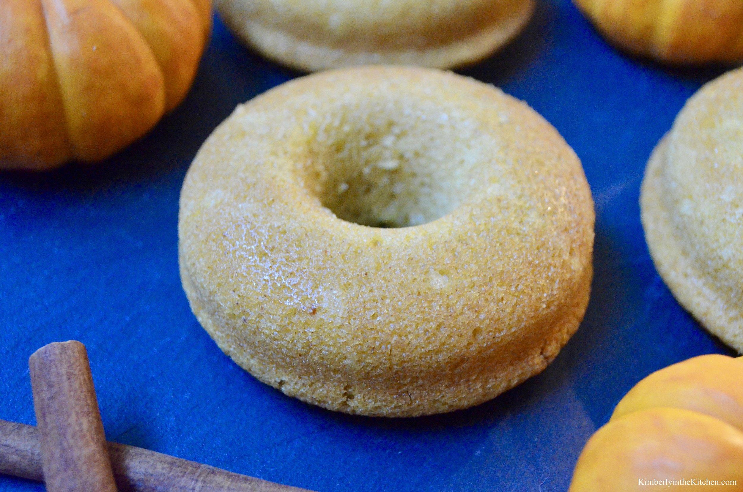 Pumpkin Doughnut 1